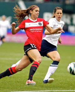 Morgan, Thorns Top Seattle Reign