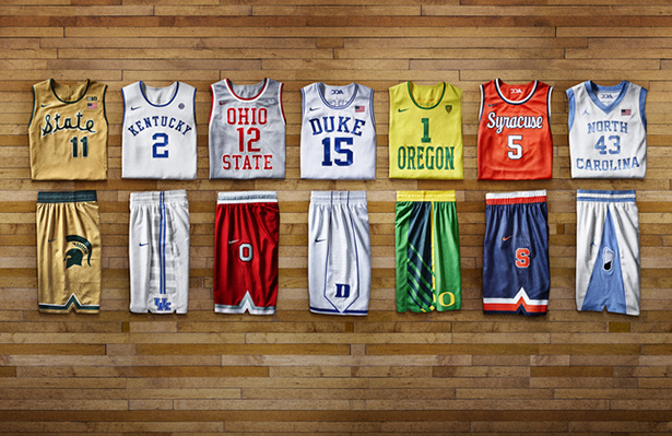 free shipping f52aa 6796a Nike Unveils New Oregon Duck Basketball Throwback Jerseys ...