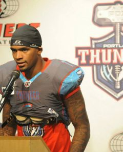 Darron Thomas Arena Football