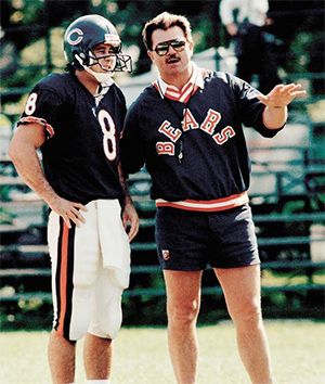 Mike Hohensee was a Quarterback under Mike Ditka's Chicago Bears